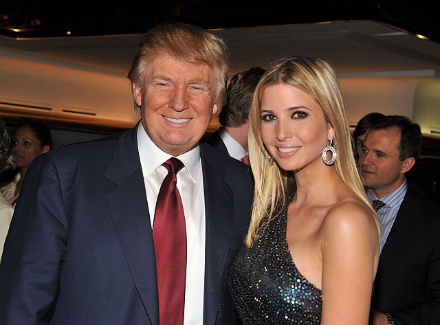 Photo of Donald Trump & his  Daughter  Ivanka Trump