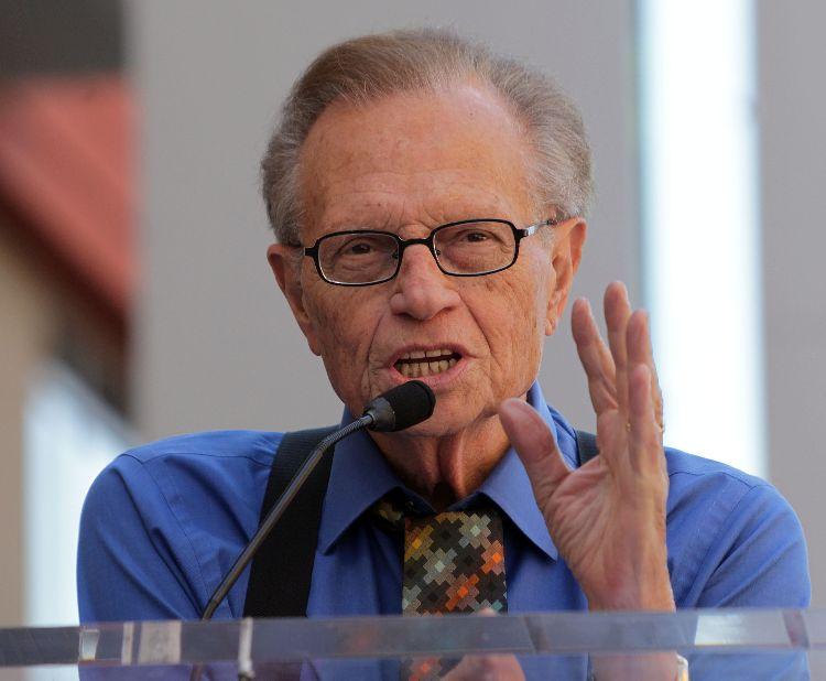 Larry king larry king young for Larry king fish oil