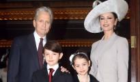Michael Douglas and Catherine Zeta Jones Are in Jerusalem
