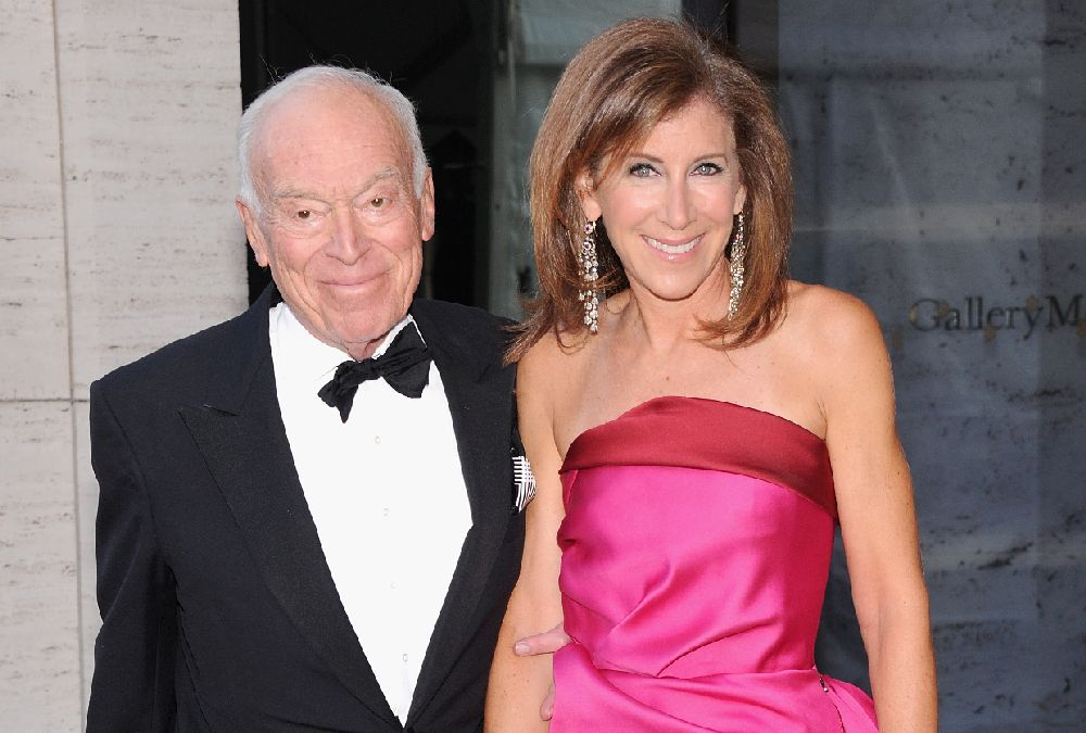 Leonard Lauder and Linda Johnson