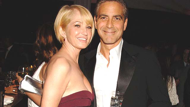 Ellen Barkin Once Did George Clooney Now She Hosted His