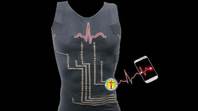 Shirt that Monitors Hearts, Destroying Cancer Cells, New Gas Fields