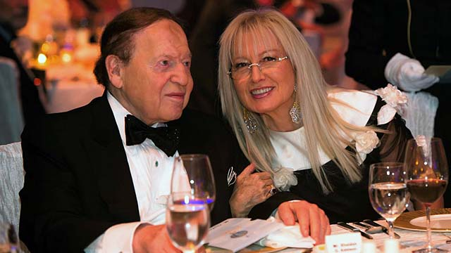 Exclusive Sheldon Adelson S Wife Dr Miriam Adelson