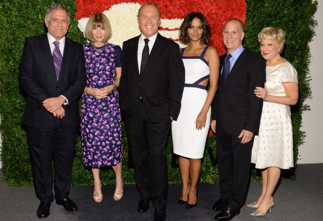 Les Moonves Halle Berry Bette Midler Anna Wintour Shine