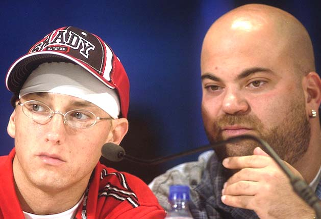 Paul Rosenberg And Eminem Celebrate 15 Years Together