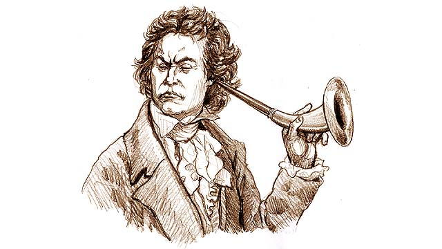 The Composer Ludwig Van Beethoven