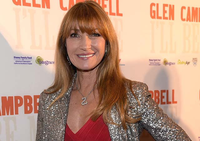 Jane seymour talks about acting jewelry and open hearts jewish photo by rick diamondgetty images for pch films aloadofball Images