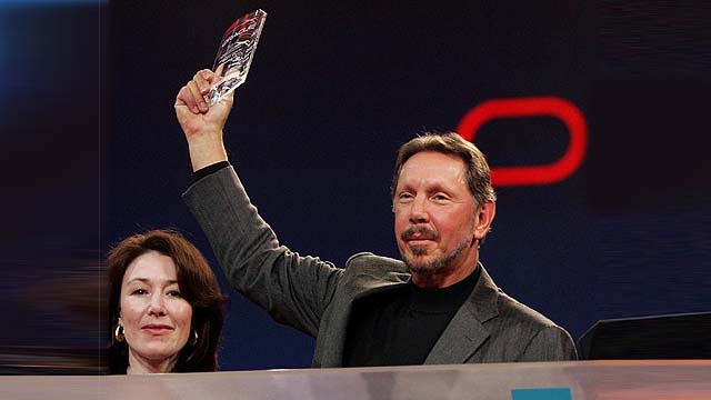 Oracle S Larry Ellison Ibm And Sap Were Our Biggest