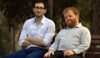 CyActive Co-Founders CEO Liran Tancman & CTO Shlomi Boutnaru