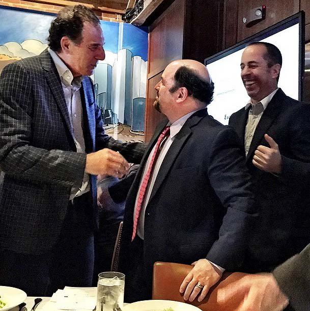 Celebrity Mansion Women S Rights In Europe By Julia: Check Out Instagram Pic From Partial Seinfeld Reunion
