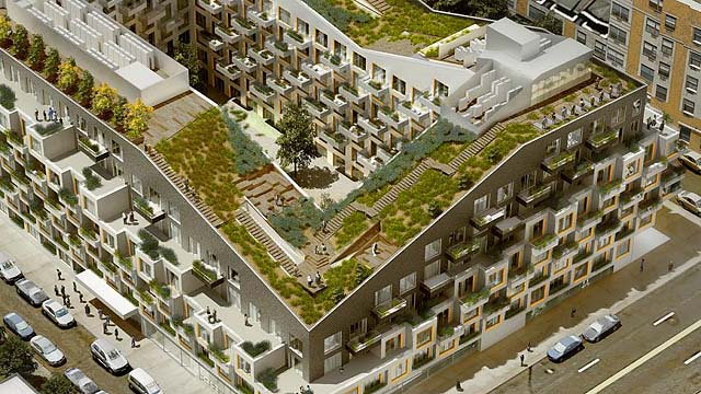 Eran Chen S Oda Architecture To Put Rooftop Gardens On New