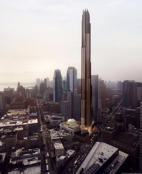 Chrysler Capital Finance >> Brooklyn's Tallest Building Could Have As Many As 500 ...