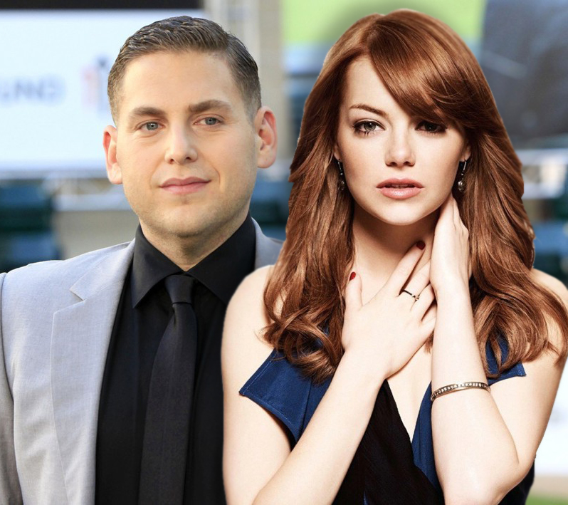 Jonah Hill & Emma Stone Get Lost In Their Own Minds For