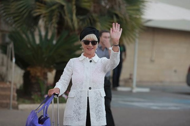 Celebrated Hollywood Actress Helen Mirren Has Landed In Israel Jewish Business Newsjewish