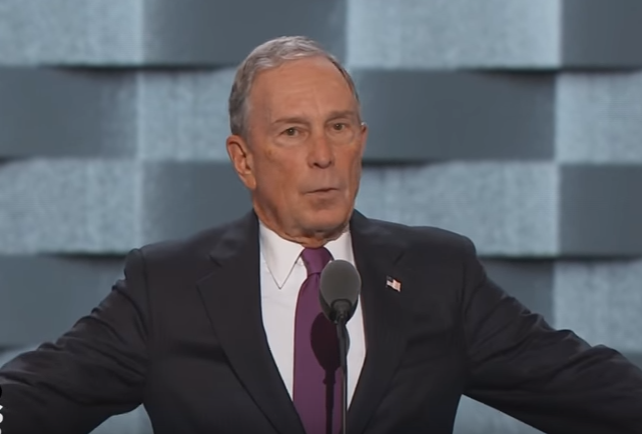 MIchael Bloomberg 8th wealthiest man in the world