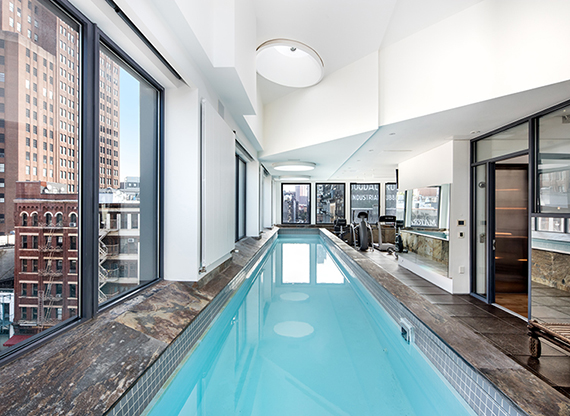 These Nyc Apartments Come With Private Pools
