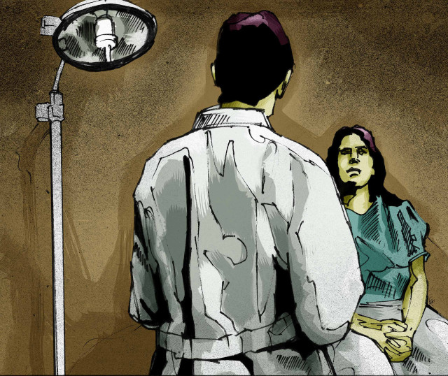 screen shot – Doctor- Health – illustration talking-to-patient