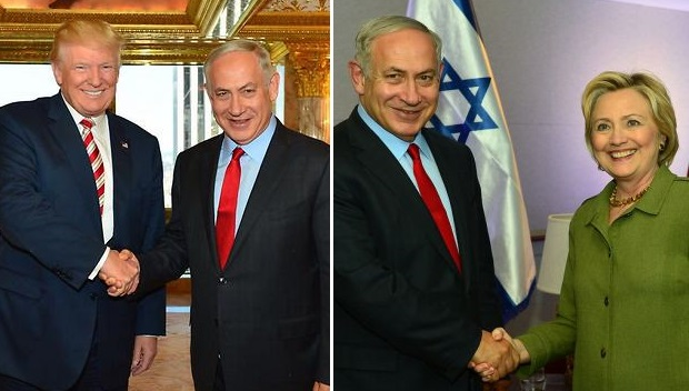 Netanyahu meets with Clinton and Trump in New York - Jewish Business ...