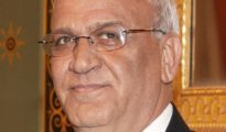 Senior Palestinian Authority official Saeb Erekat