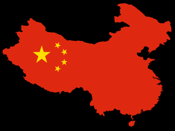 Image result for china, flag, map