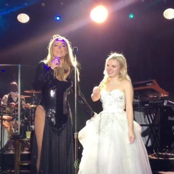 Mariah Carey Kagan Wedding Performance