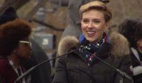 scarlett johansson speaks at Women's march