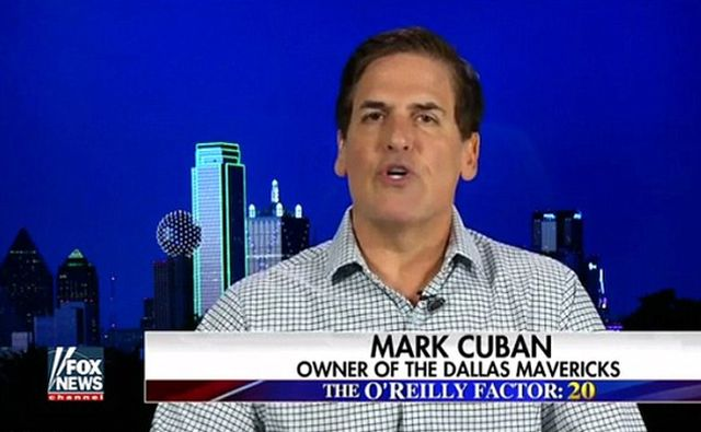Its Mark Cuban vs Donald Trump