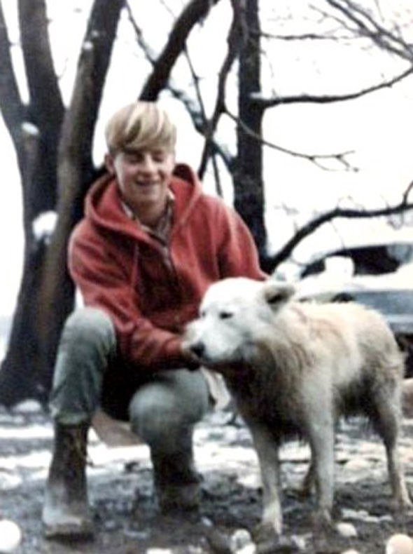 UFO Ron-Johnson- with his dog- youtube