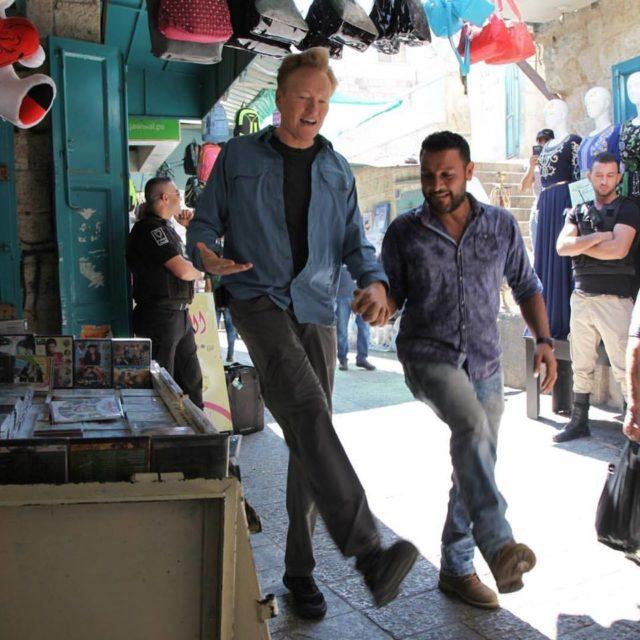 conan o brien in israel palestine presents team coco jewish