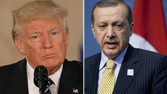 US President Donald Trump and Turkey president Recep Tayyip Erdogan