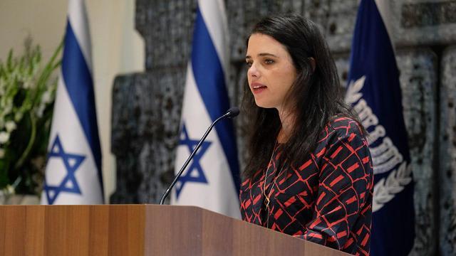 Ayelet Shaked (Photo Yoav Dudkevitch)