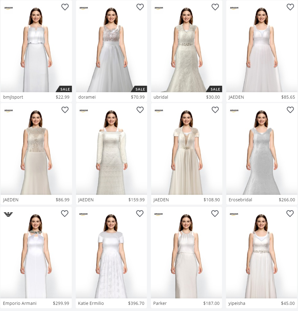 Amazon Partners With Israeli Startup Zeekit for Wedding Dresses ...