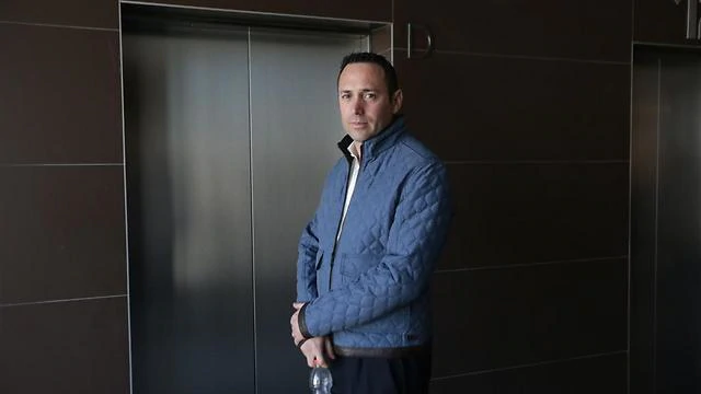 Adi Sheleg, turned state's evidence in the Dankner case (Photo Yaron Brener)