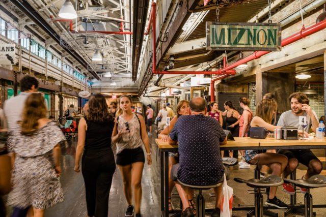 Eyal-Shani miznon Chelsea Market branch in Chelsea Market, Manhattan