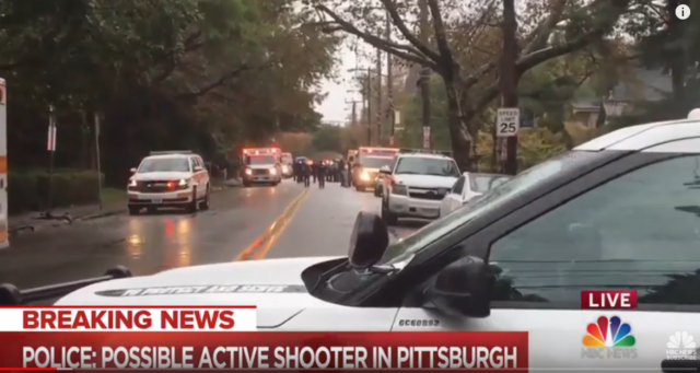 dead in shooting at Pittsburgh synagogue