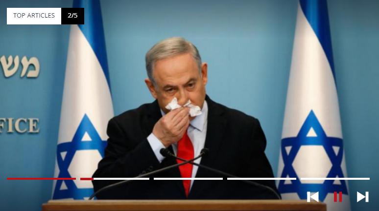 Netanyahu in coronavirus days on television – 12-3-2020
