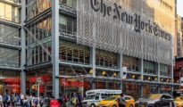 New York Times Building - by Ajay Suresh Wikipedia (cropped)