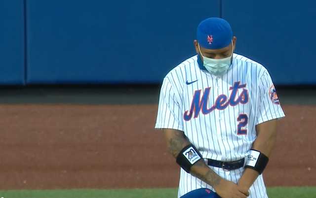 NY Mets Moment of Silence Team Video
