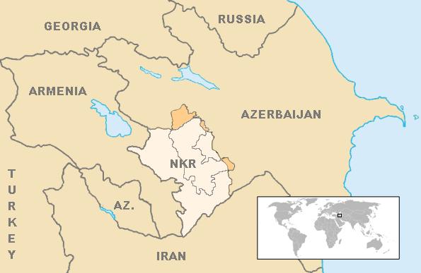 Location NKR Nagorno-Karabakh Republic