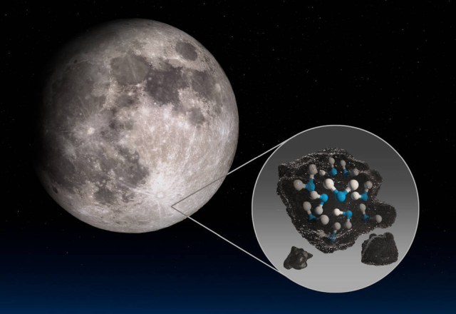 Water on the moon – NASA