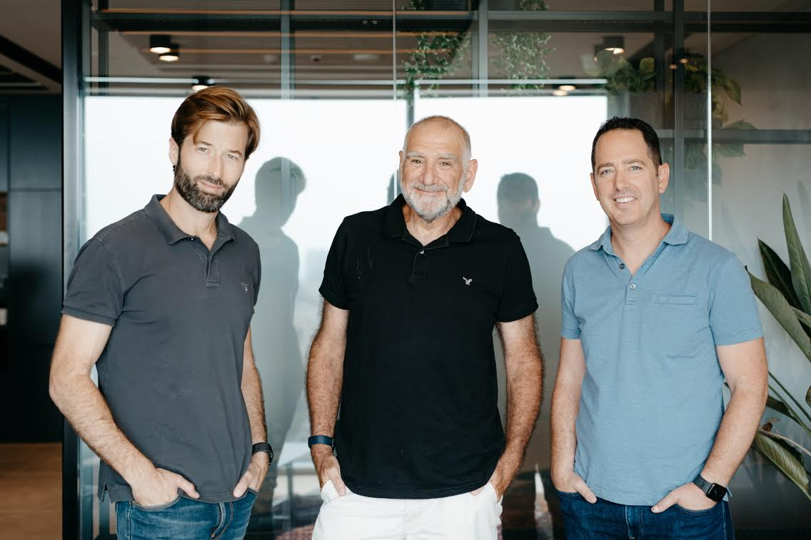 Venture Capital firm 10D, founded by Yahal Zilka, Rotem Eldar, and Itay Rand -Photo omer Hacohen